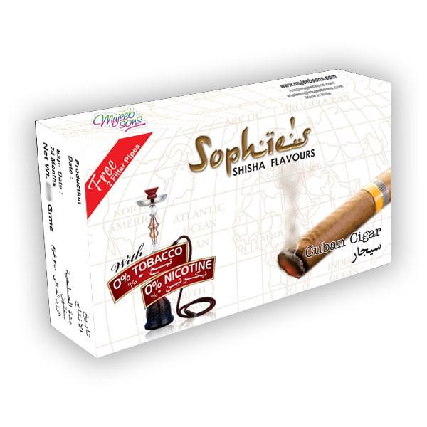 Наргиле Ароми Sophies Sophies арома за наргиле  Cuban Cigar 50gr