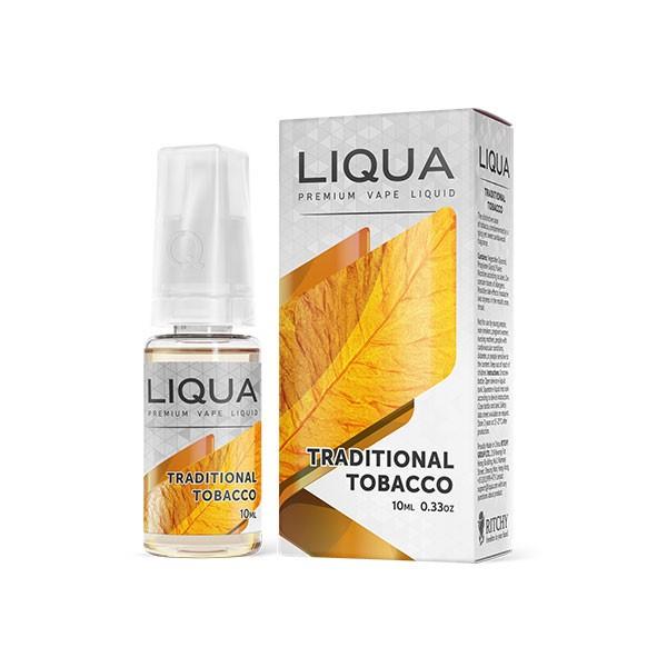 Електронска цигара Течности Ritchy Liqua Liqua Elements Traditional Tobacco 10ml