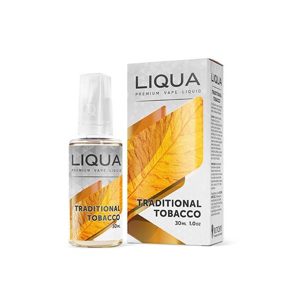 Електронска цигара Течности Ritchy Liqua Liqua Elements Traditional Tobacco 30ml