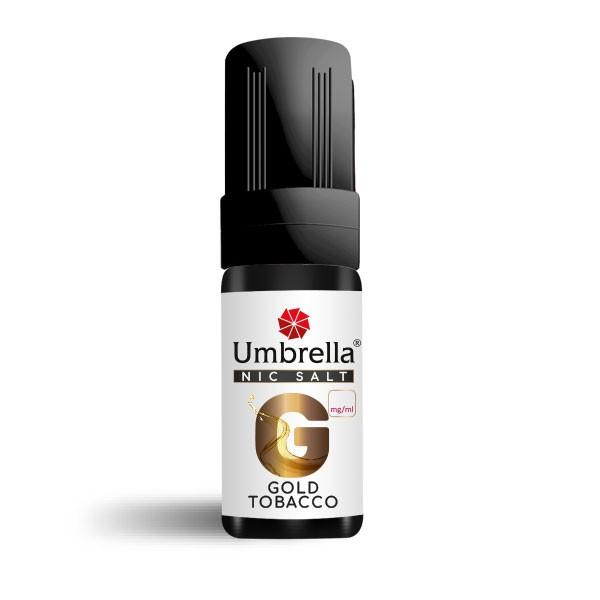 Електронска цигара Течности Umbrella NicSalt Umbrella NicSalt Gold Tobacco 10ml 20mg