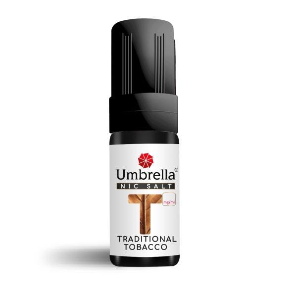 Електронска цигара Течности Umbrella NicSalt Umbrella NicSalt Traditional Tobacco 10ml 20mg