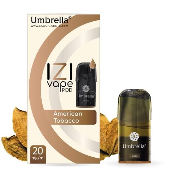 Електронска цигара IZI Vape POD Umbrella Umbrella IZI POD American Tobacco
