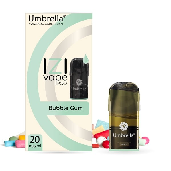 Електронска цигара IZI Vape POD Umbrella Umbrella IZI POD Bubble Gum