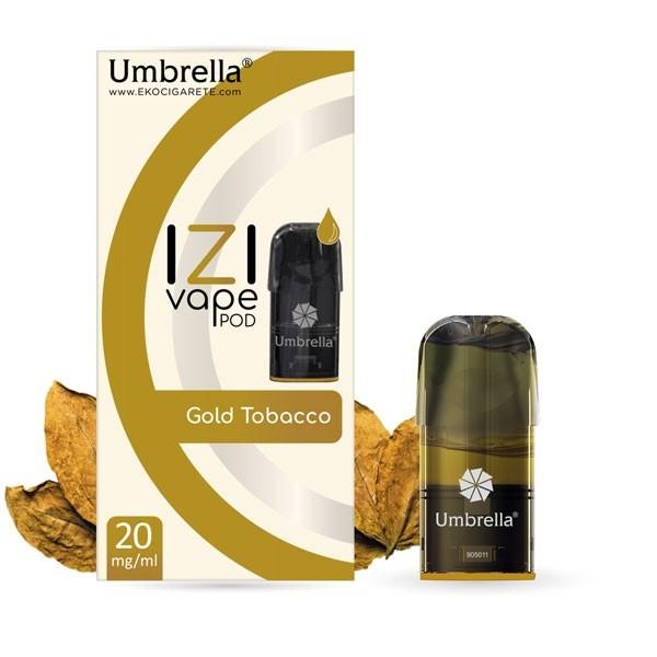 Електронска цигара IZI Vape POD Umbrella Umbrella IZI POD Gold Tobacco