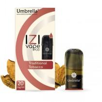 Електронска цигара IZI Vape POD  Umbrella IZI POD Traditional Tobacco