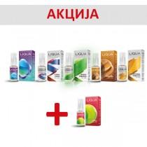 Е-цигари Течности Ritchy Liqua Liqua Elements течности 10ml - 5+1 гратис