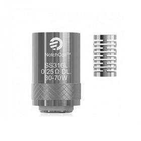 Електронска цигара Делови  Греач за Cubis NotchCoil 0,25ohm